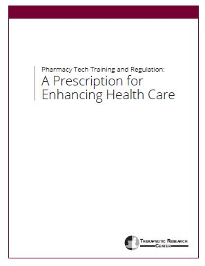 Pharmacy Tech Training and Regulation White paper