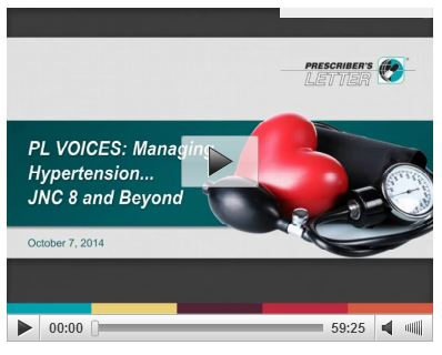 PL Voices Webinar  Managing Hypertension