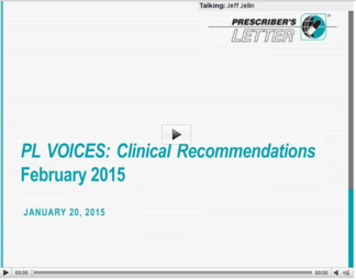 PL VOICES: Clinical Recommendations February 2015 Webinar Replay