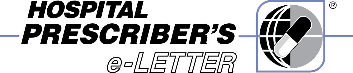 Hospital Prescriber's e-Letter