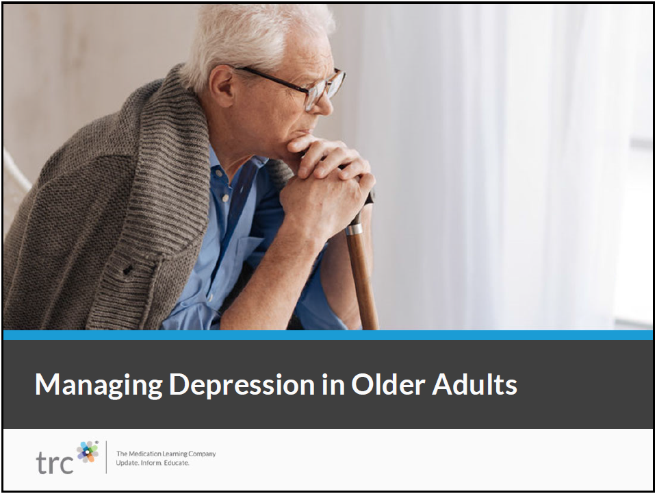 Managing Depression in Older Adults