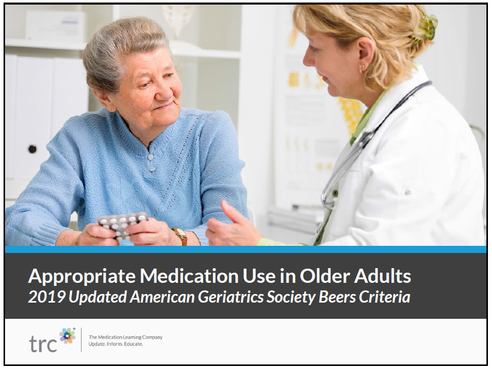 Appropriate Medication Use in Older Adults