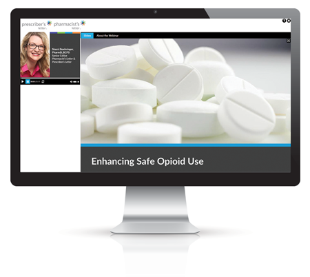Webinar: Enhancing Safe Opioid Use