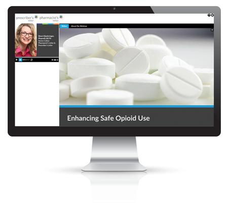 Webinar: Enhancing Safe Opioid Use